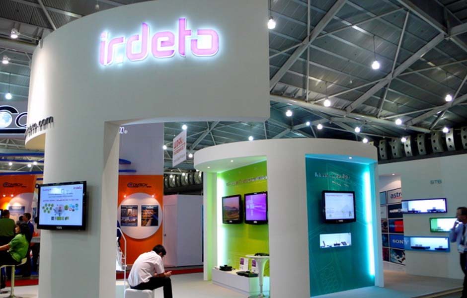 Irdeto Trade Show Exhibit