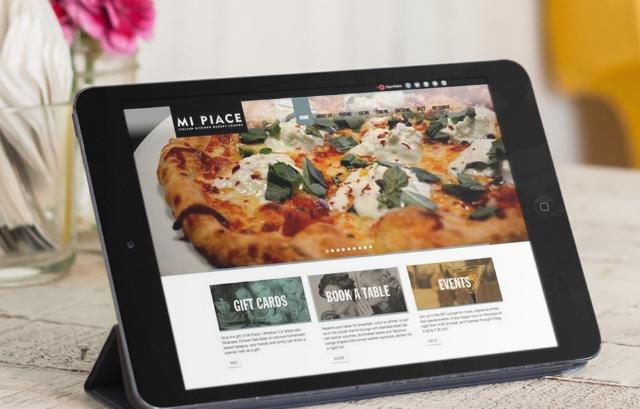 Mi Piace Restaurant Website